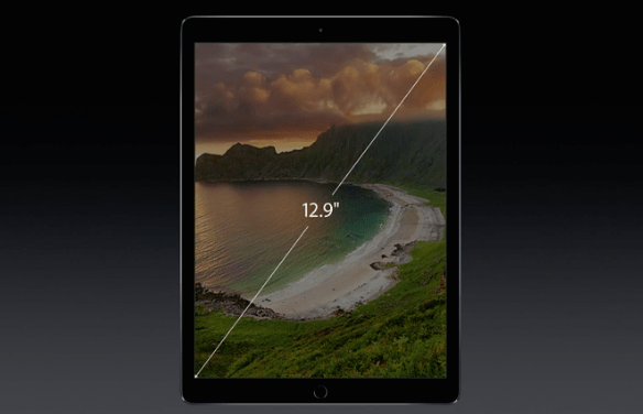 ipad pro screen size