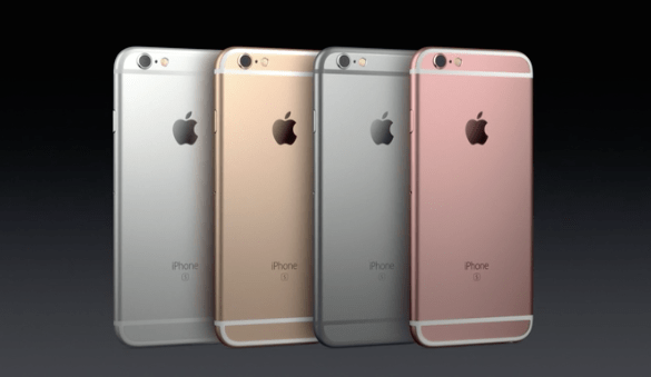 new iPhone 6s colors
