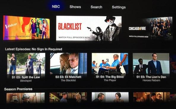Apple TV NBC channel image 001