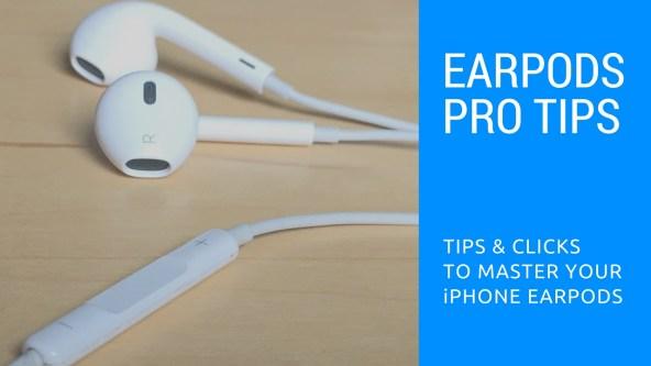 EarPods pro tips