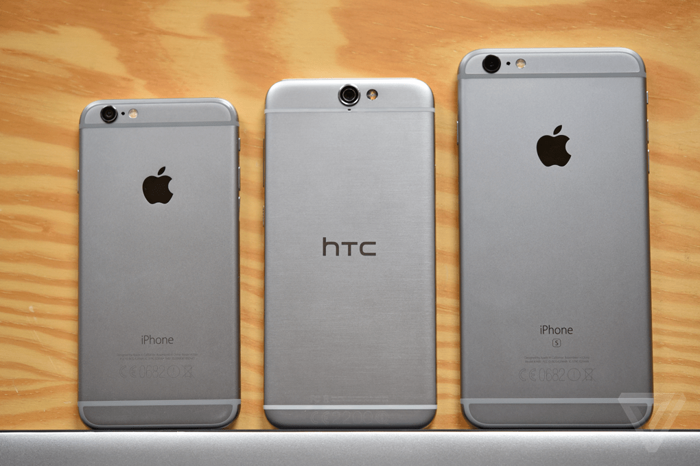 Here's the iPhone-Like HTC One A9!