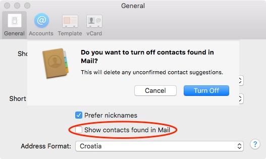OS X El Capitan Contacts Preferences Mac screenshot 002
