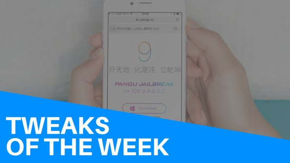 Tweaks of the week pangu