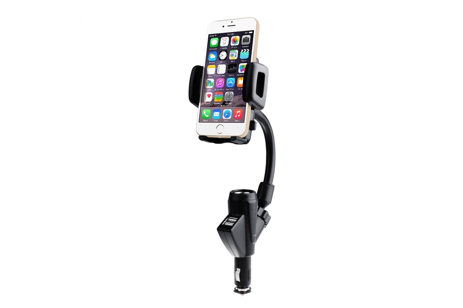 The Victsing Car Charger Mount Offers Multiple Charging Ports