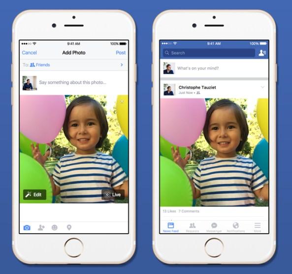 Facebook Live Photos teaser 001