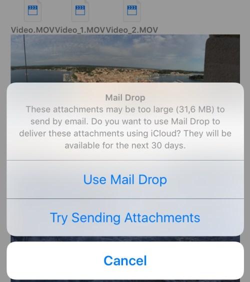 How to Mail Drop iPhone screenshot 003