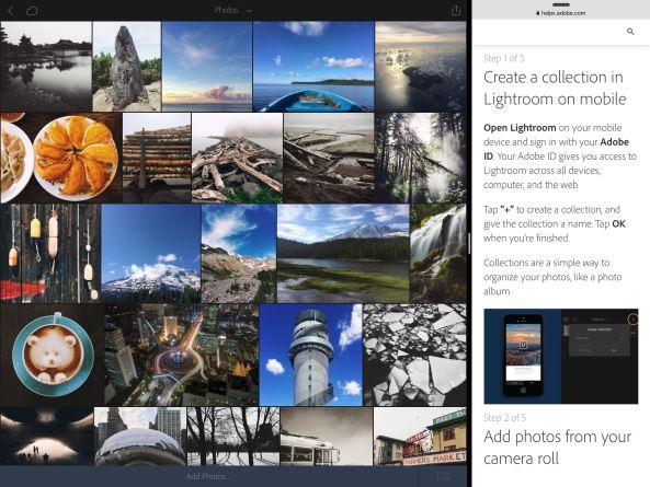 Lightroom 2.1 for iOS iPad screenshot 001