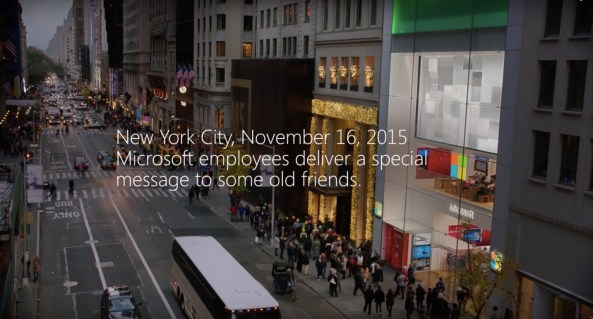 Microsoft Store Christmas 2015 ad image 001