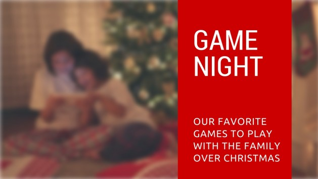 game night games to play with family