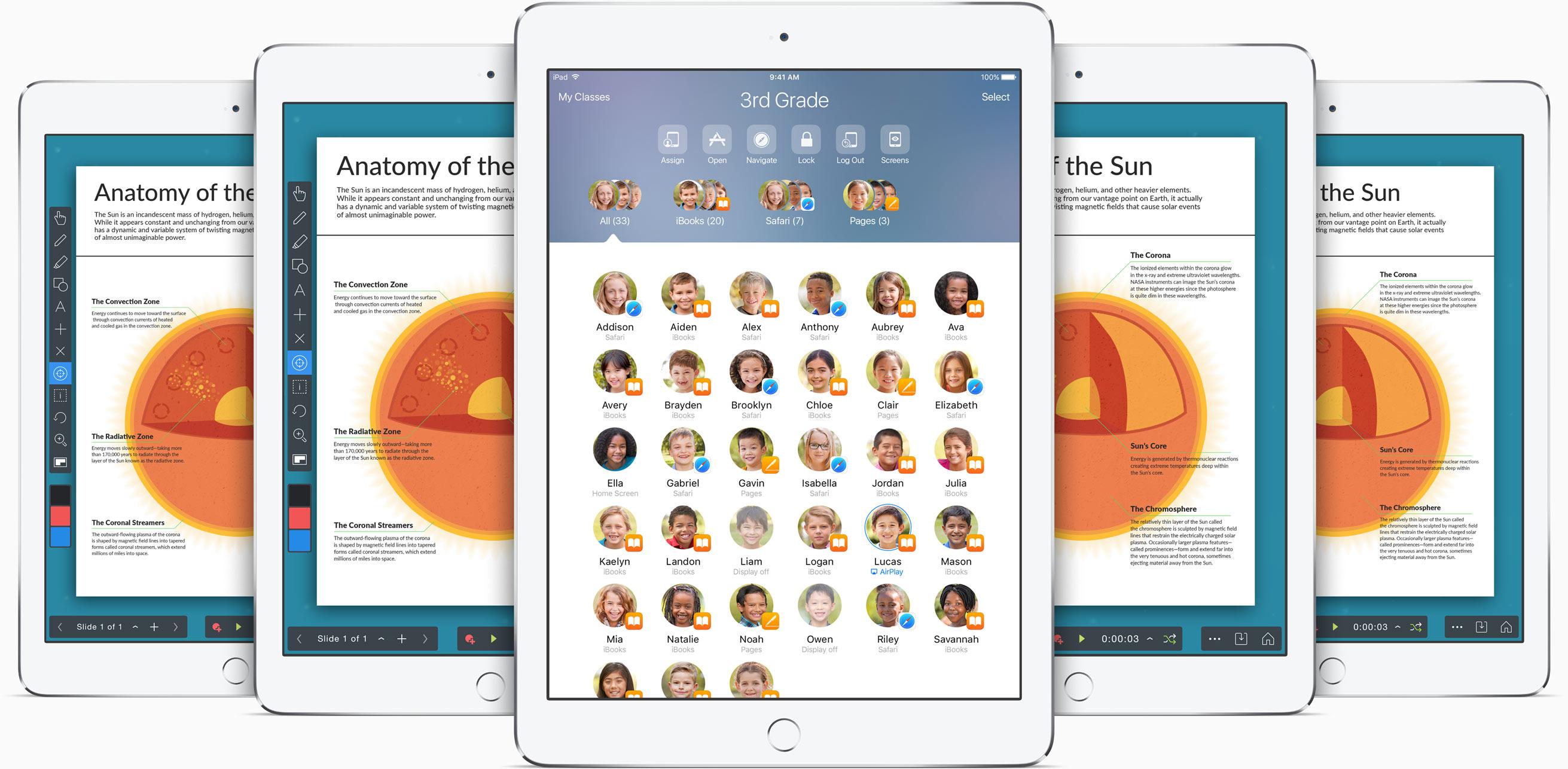 iOS 9.3 Classroom app teaser 001