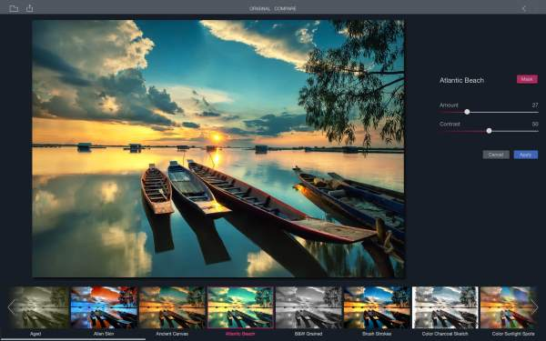 Add artistic flair to your photos with Filters, a free Mac ...