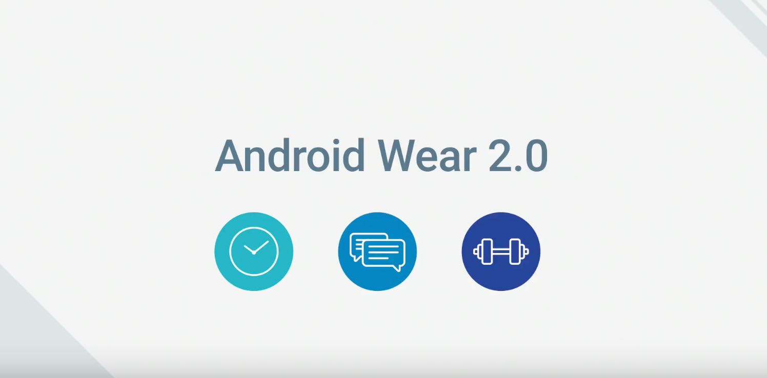 Android Wear 2.0 slide