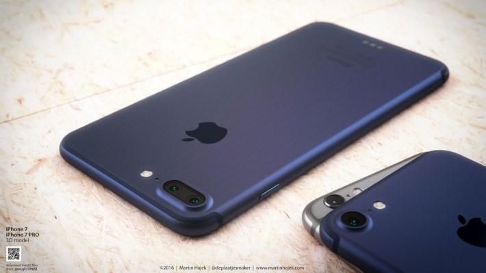 iPhone 7 dark blue Martin Hajek 001