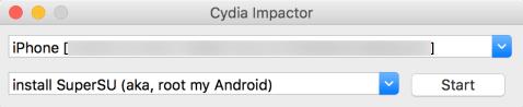 Cydia va chạm giao diện iPhone