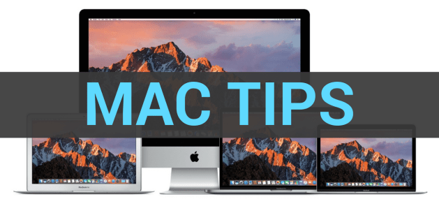 mac tips macOS