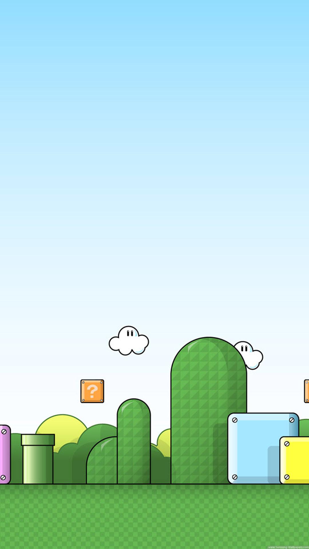 Super Mario - tapeta 2