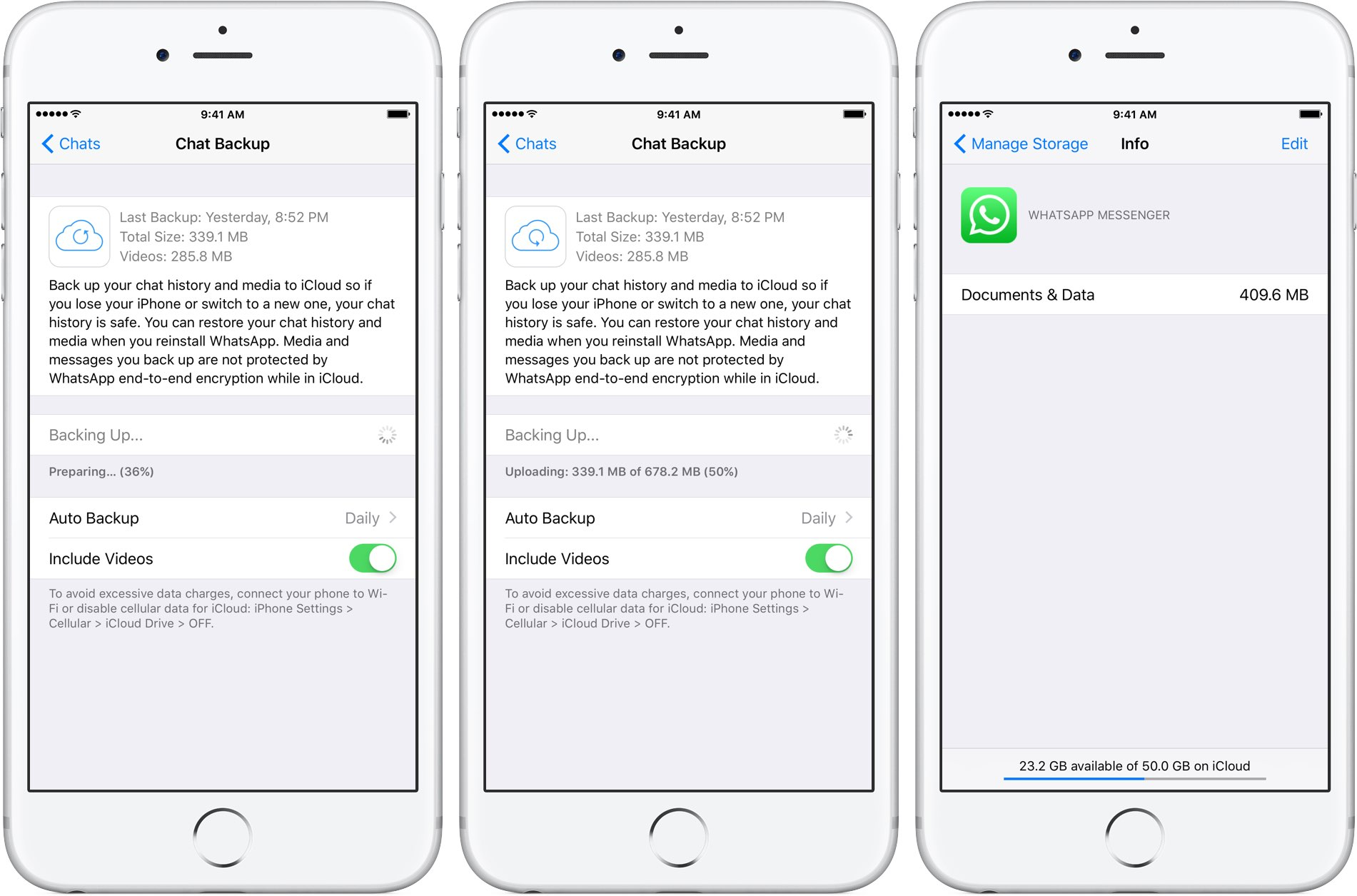 Whatsapp Quietly Added Encryption To Icloud Backups In