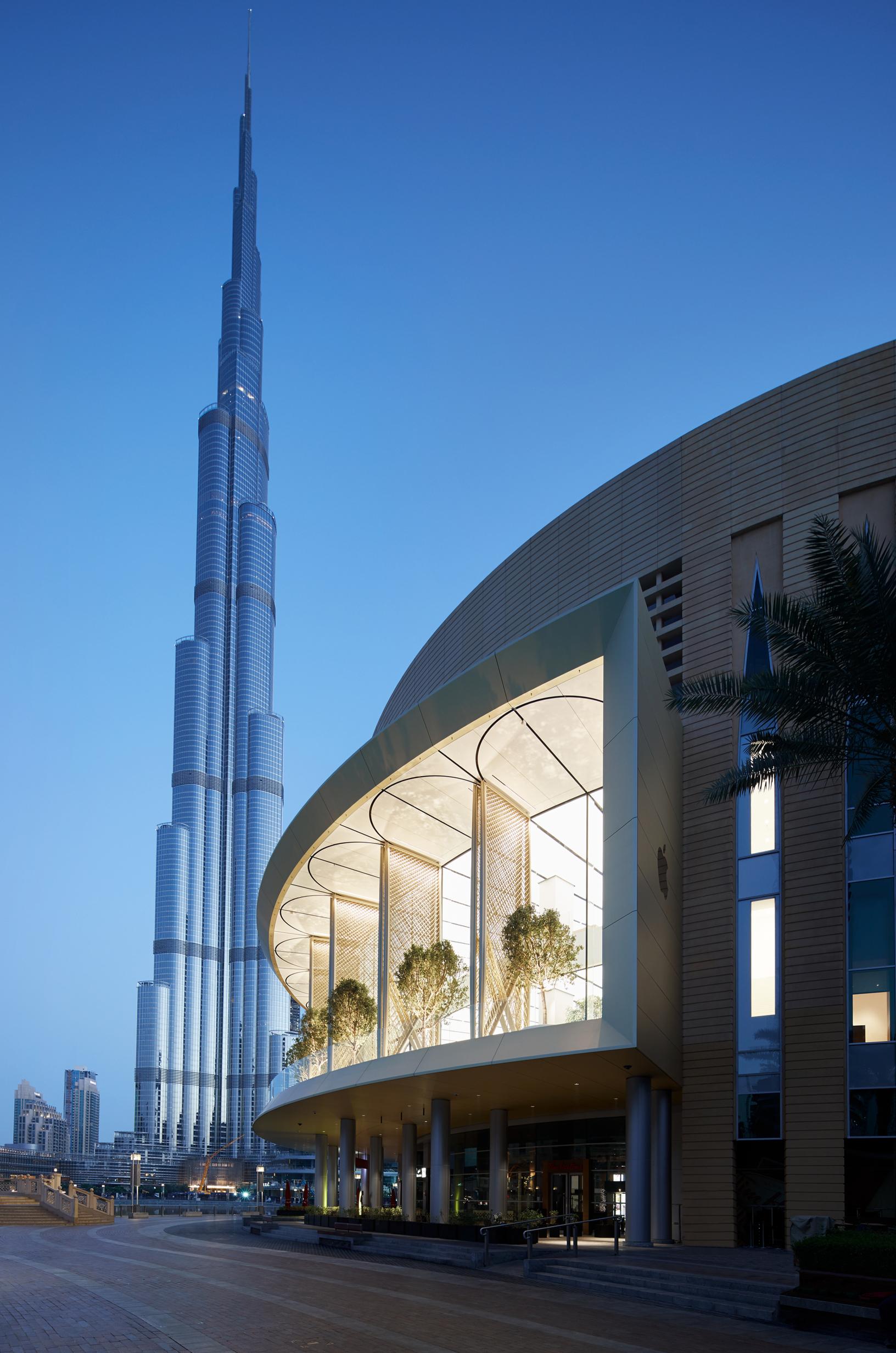 Wallpapers Apple Store Dubai Mall