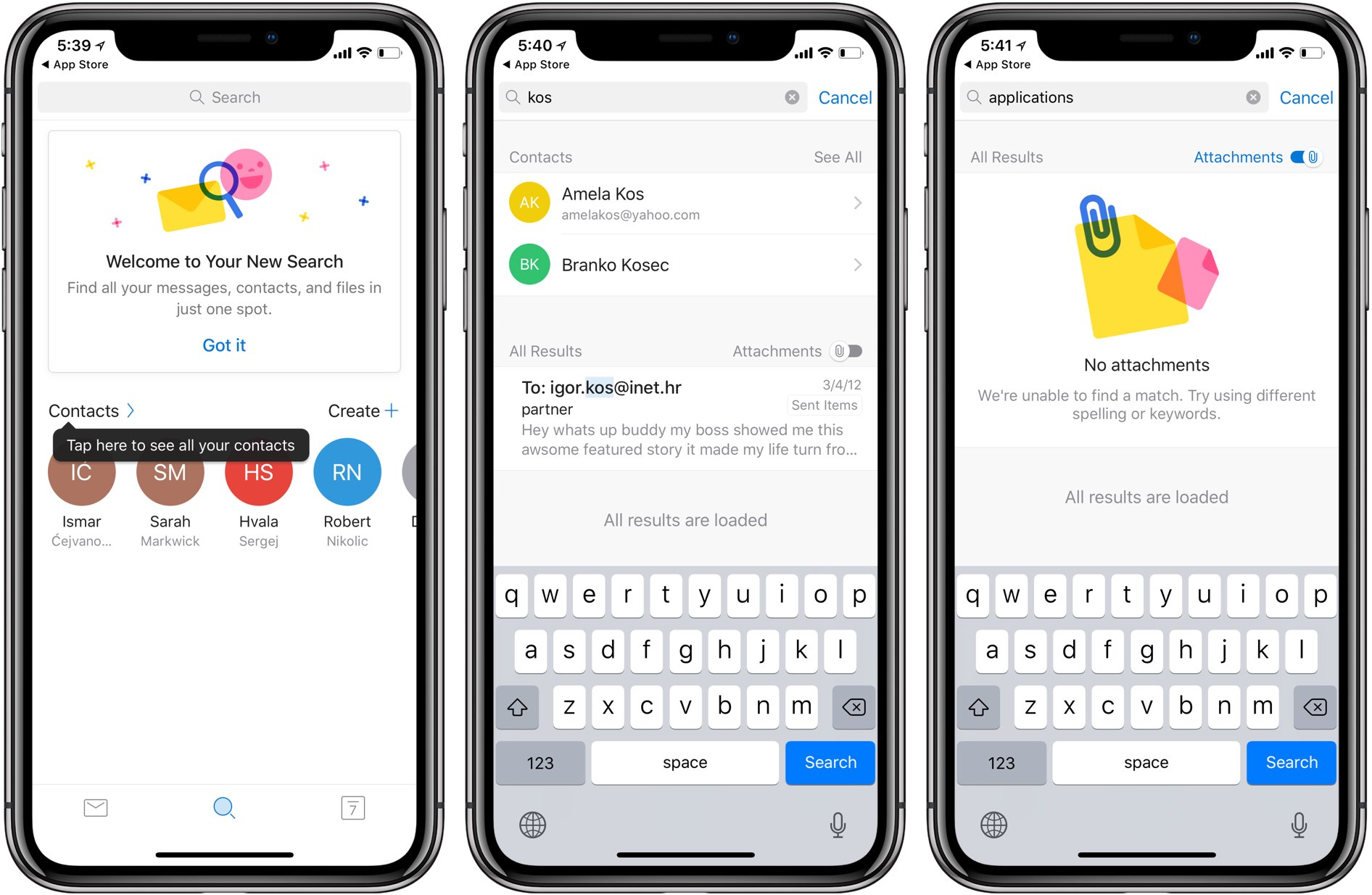Outlook For IOS Adds New Search Features And Filters