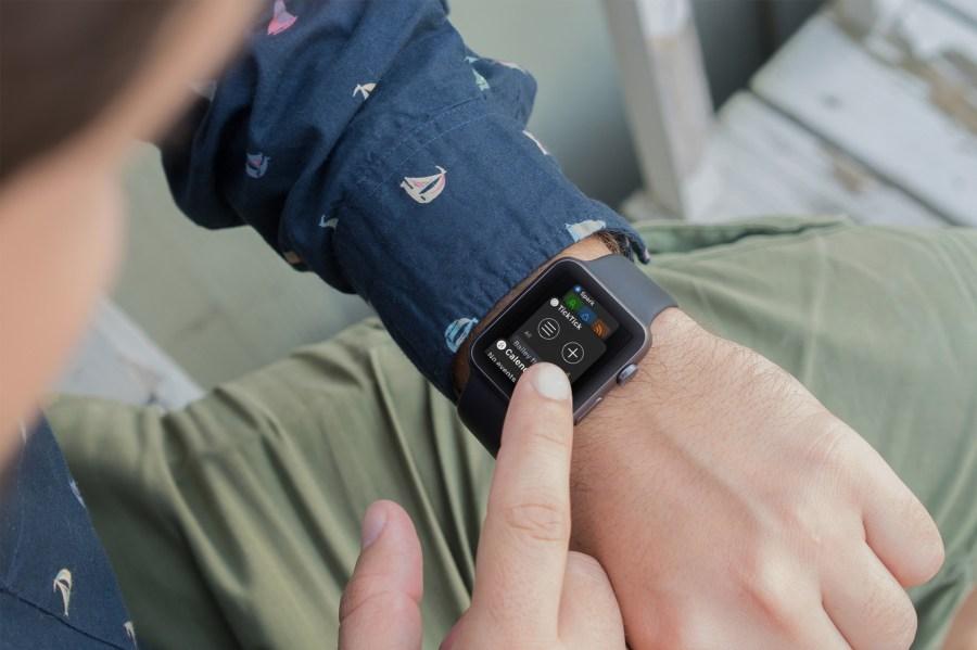 Apple Watch Productive Dock