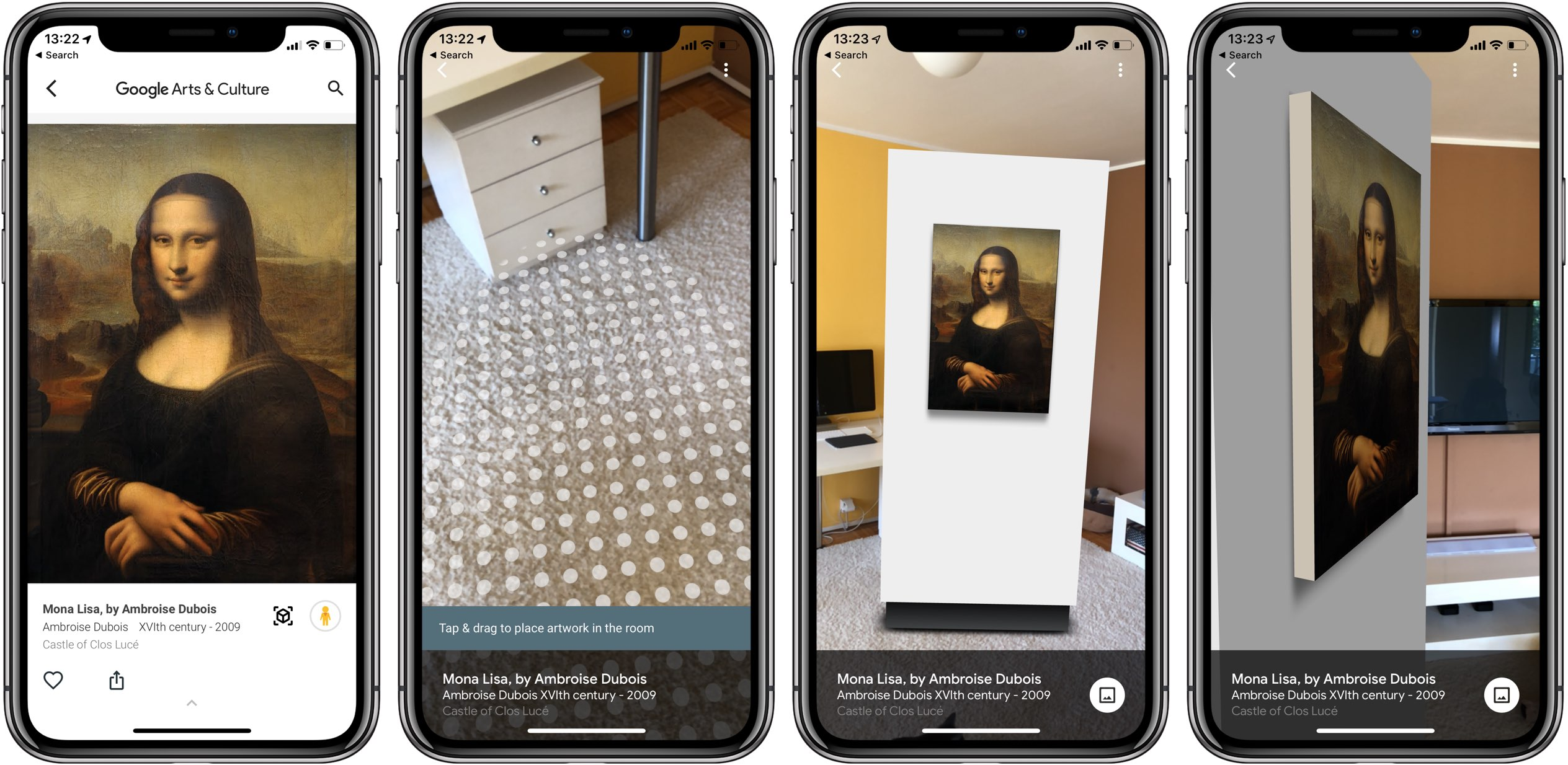 Google's updated Arts & Culture app now lets you explore real-size paintings and artworks in augmented reality