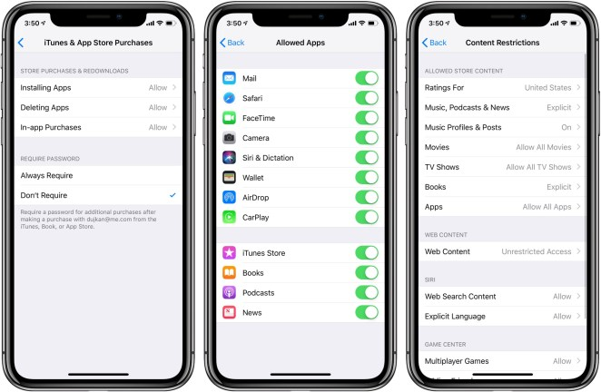 Three Tools to Help Parents Control Teens' iPhone Use - apple screen time