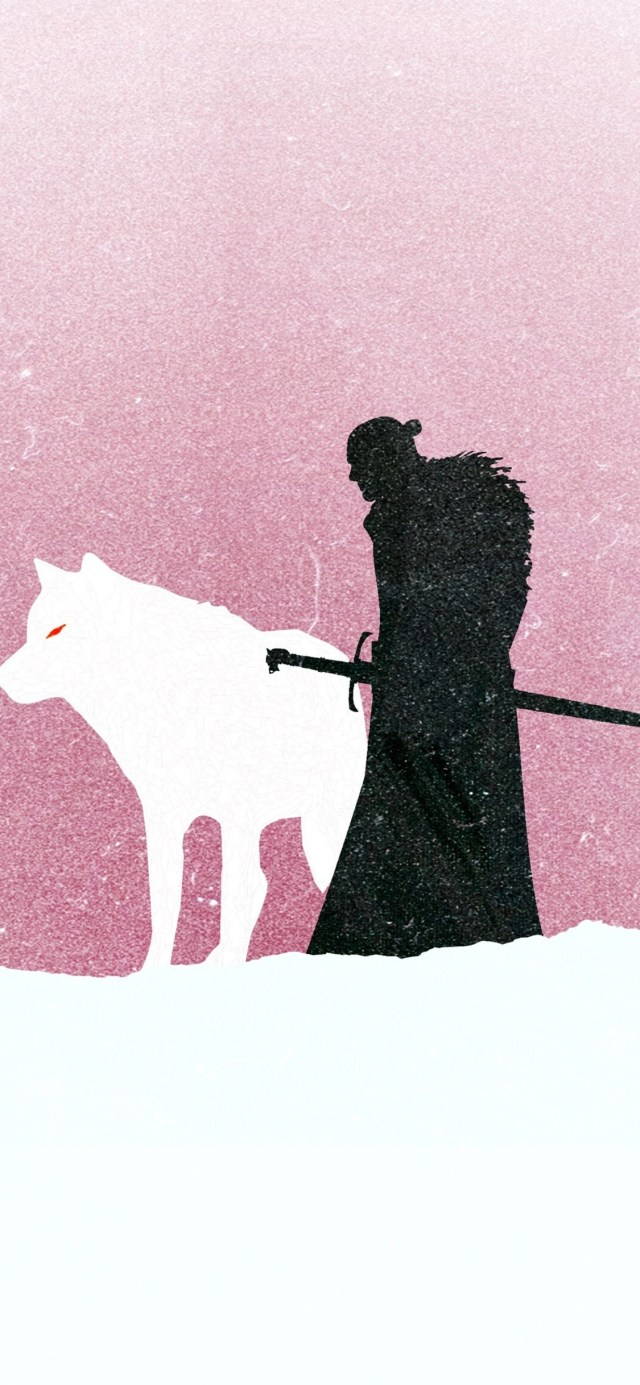 jon-snow-game-of-thrones-minimalism iPhone game of thrones wallpaper