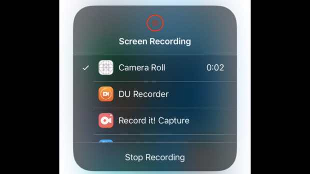 Cropped Video on iPhone with iMovie