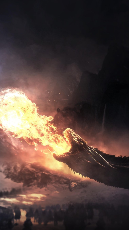 dragons-fight-game-of-thrones-season-8-ba-2160x3840