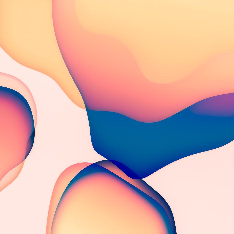 iOS 13 wallpaper iphone ipad ar72014 orange