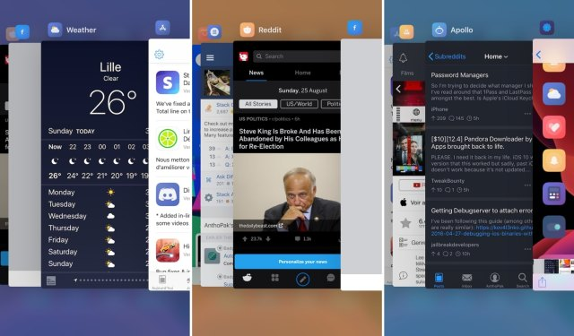 SwitchShades gives the iOS App Switcher a fresh coat of