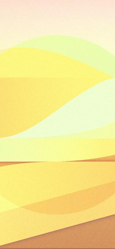 iPhone 11 wallpaper sun-rise-pattern-background-yellow-iphone-X