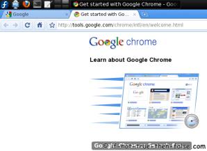 Fedora 12 Google Chrome Beta