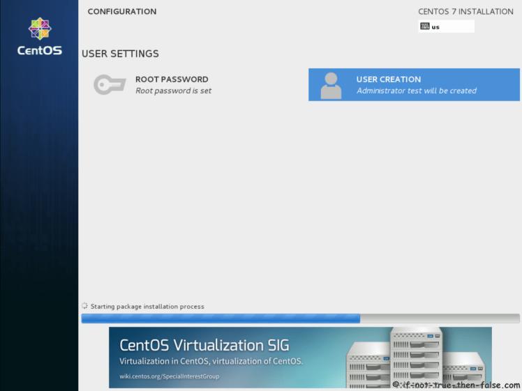 CentOS 7.5 Configuration Done