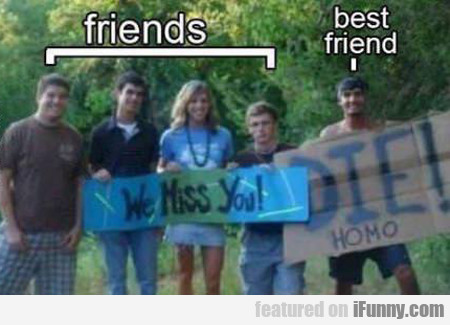 Friends Vs Best Friend