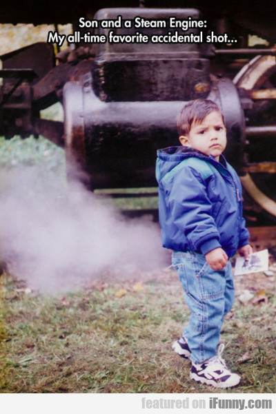 Son And A Steam Engine