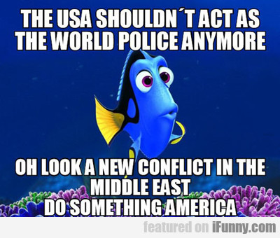 The Usa Shouldn't Act As The World Police...