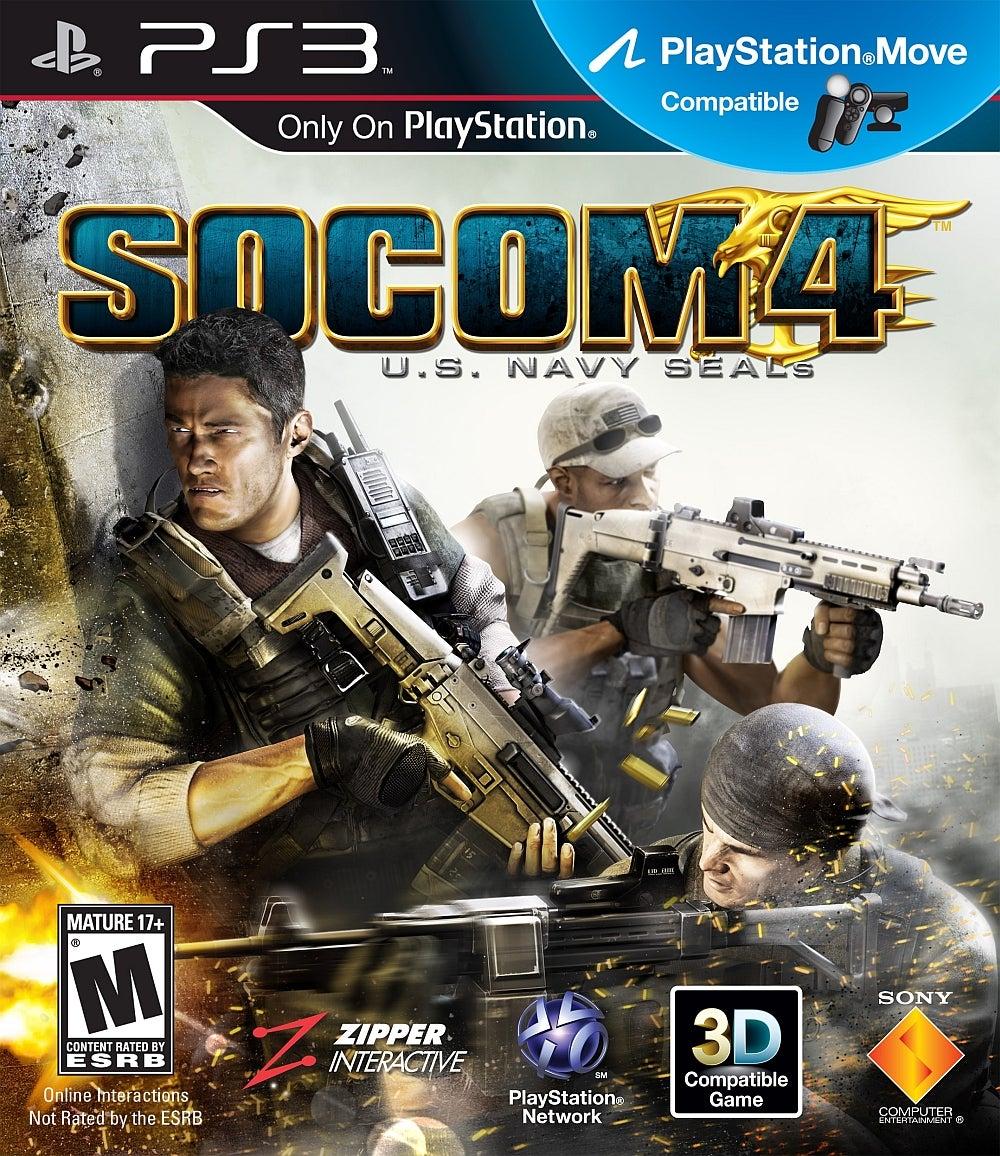 SOCOM 4 US Navy SEALs PlayStation 3 IGN