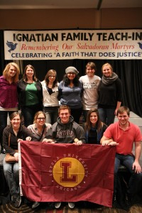 Loyola Chicago University Attends the Ignatian Family Teach-In for Justice