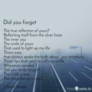 The true reflection of yo... | Quotes & Writings by Aakriti Saxena ...