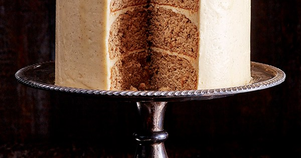 Seven Layer Caramel Cake