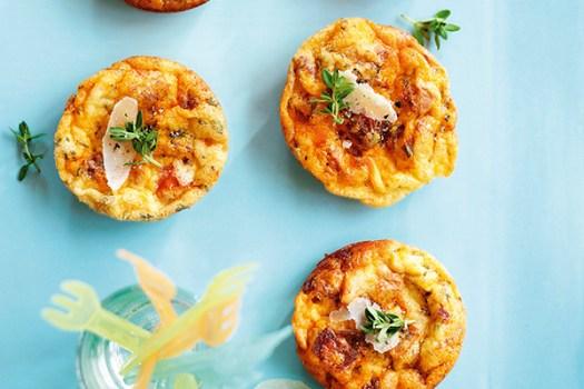 Mini Chorizo and Tomato Frittatas Recipes