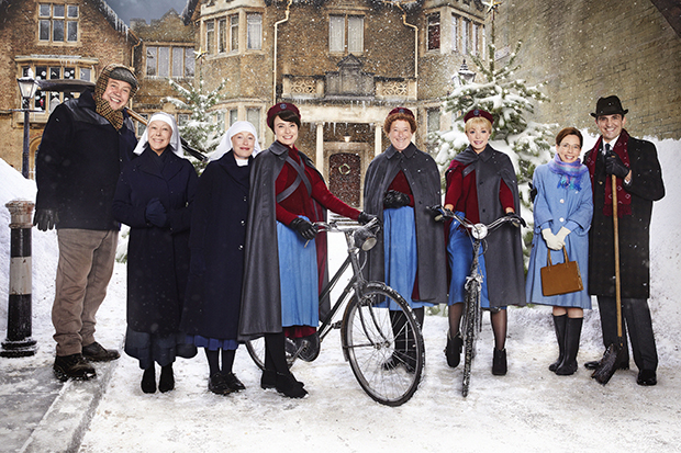 Image result for call the midwife 2017 christmas special