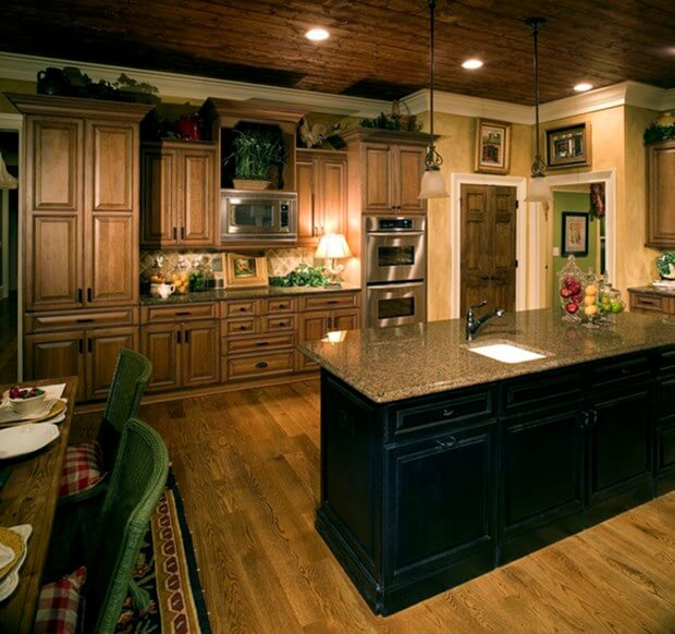 The 5 Most Popular Granite Colors For Your Kitchen Countertops on What Color Cabinets Go Best With Black Granite Countertops  id=24613