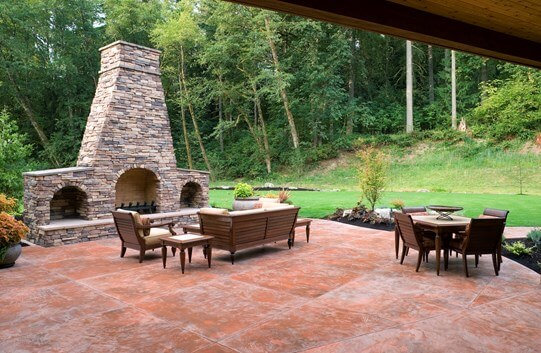 Stamped Concrete Patio Cost | Concrete Patios on Backyard Patio Cost id=52928