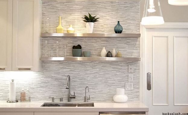 Gray Backsplash Trend