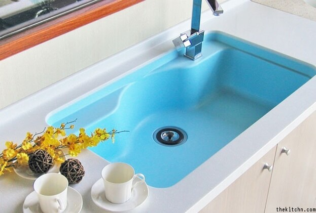 Colorful Sink Trend