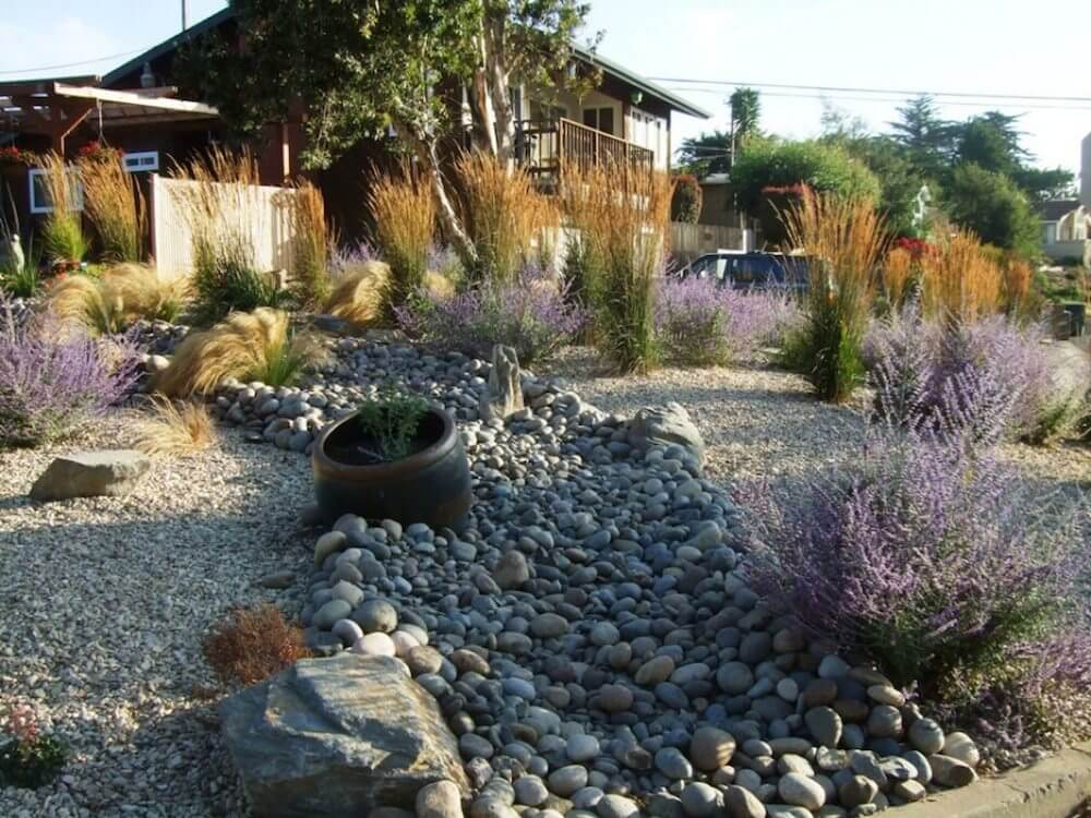 2017 River Rock Landscaping Prices | Average River Rock ... on Rock Backyard  id=39017