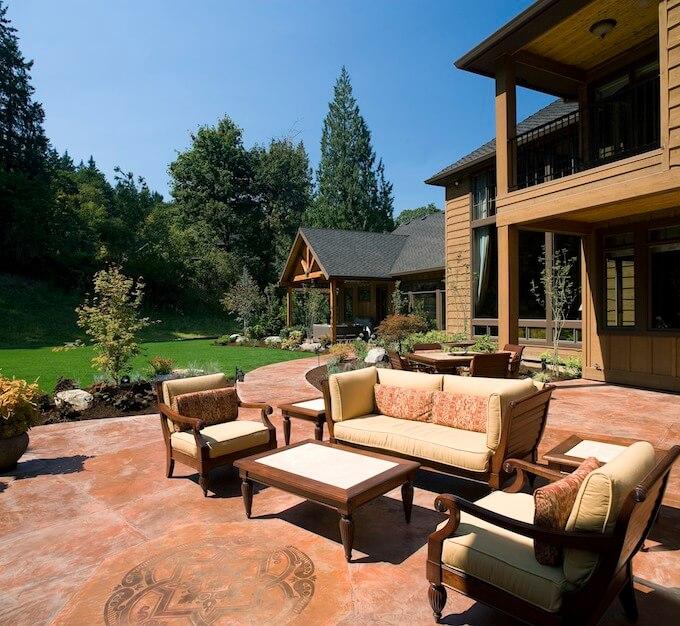 2017 Concrete Patio Cost | Concrete Patios | Concrete Prices on Backyard Patio Cost id=72649