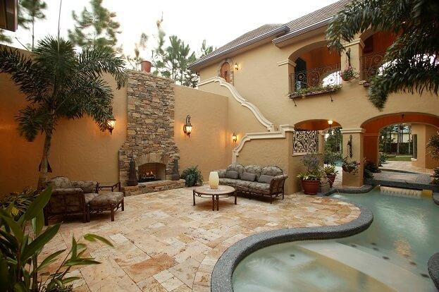 Building A Mexican Themed Garden & Backyard on Mexican Backyard Decor id=63503